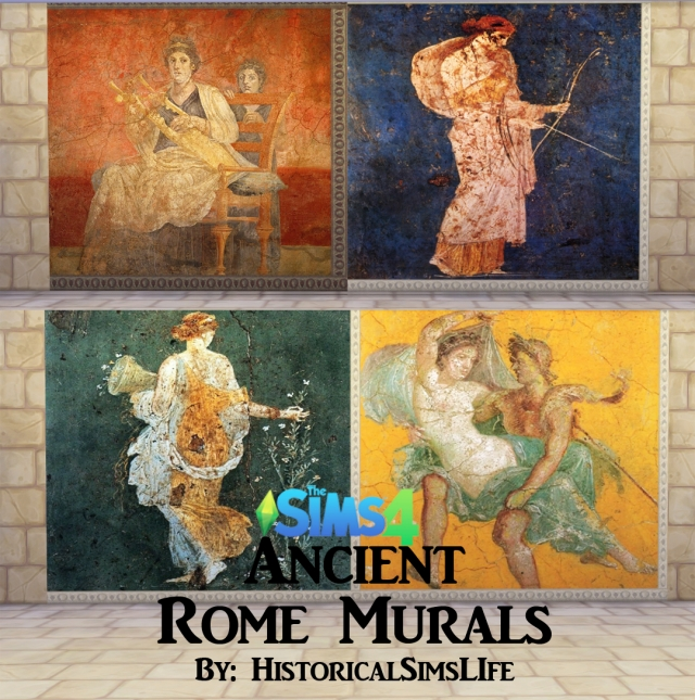 Ancient Rome Murals by HistoricalSimsLife