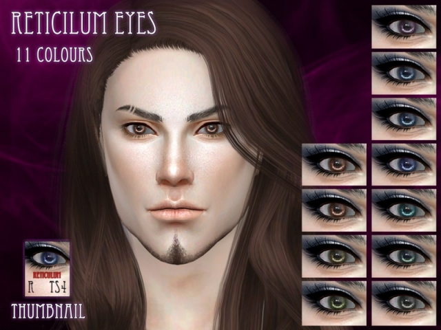 Reticilum Eyes by RemusSirion