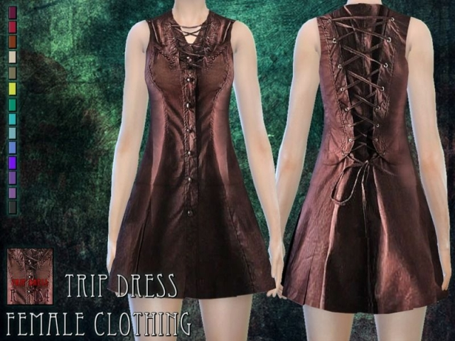 Trip dress - female clothing by RemusSirion