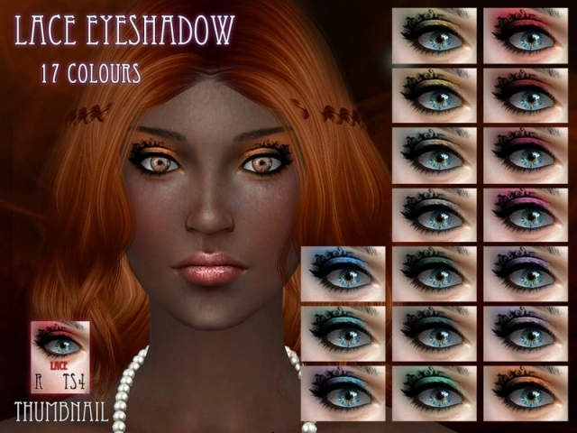 Lace Eyeshadow by RemusSirion