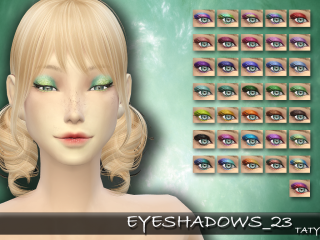 Eyeshadow 23 by tatygagg