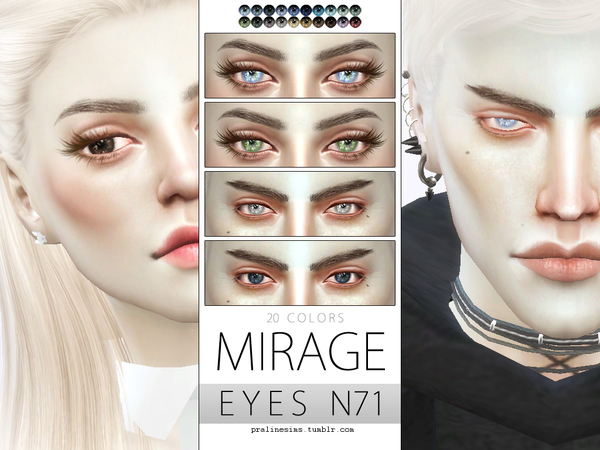Micro Eye Pack N08 by Pralinesims