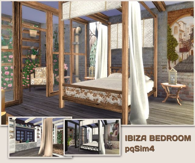 Ibiza Bedroom by pqsim4
