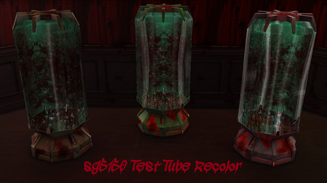 Blood Test Tube by sg5150