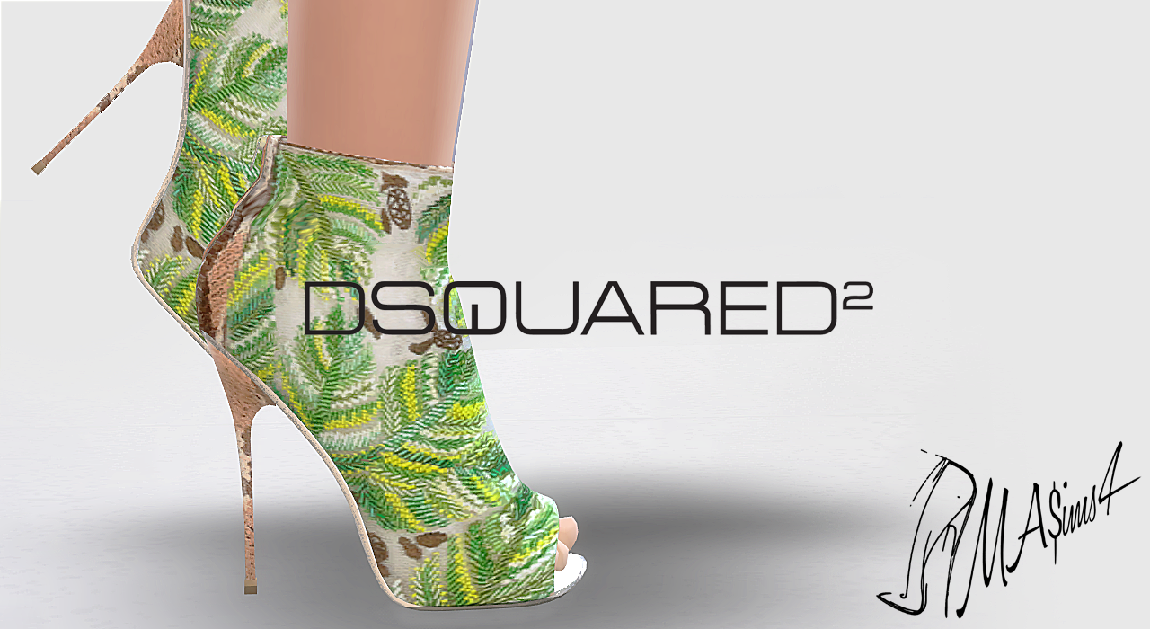 Dsquared Embroidered Boots by MrAntonieddu