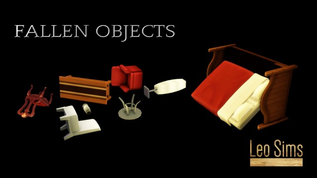 FALLEN OBJECTS by Leo-Sims