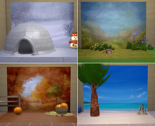 Season Photo Backdrops by JosieSimblr