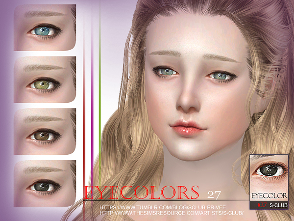 S-Club WM thesims4 eyecolor 27
