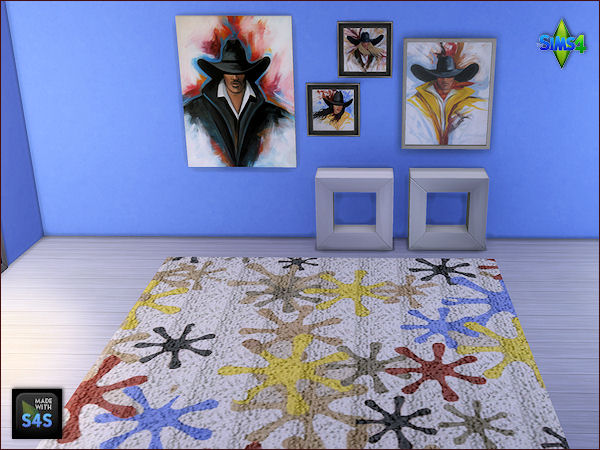 Rugs and Paintings by Mabra