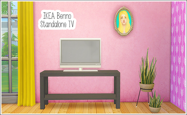IKEA Benno Standalone TV by lina-cherie