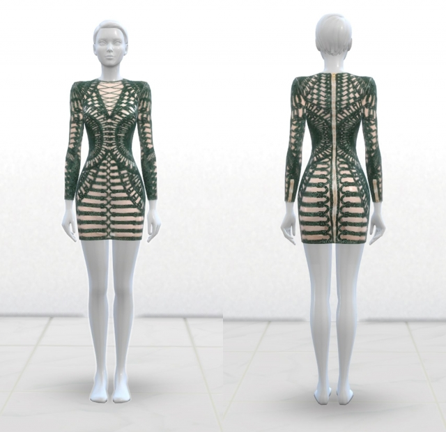 Balmain Dress by greenapple18r