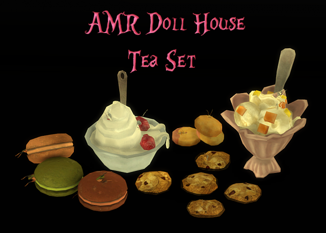 Alice Madness Returns: Doll House Tea Set (AMR: Чайный сет) by Mimoto