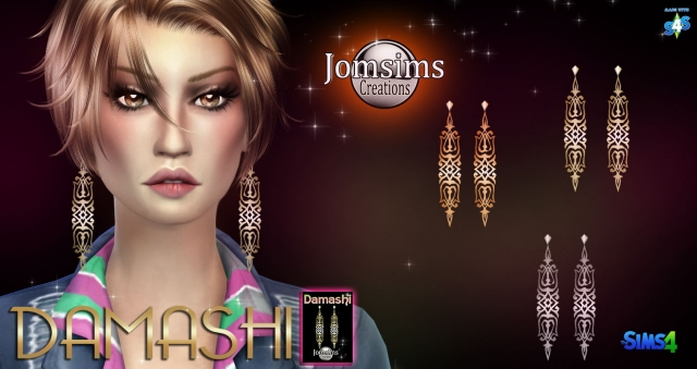 DAMASHI EARRINGS by JomSims