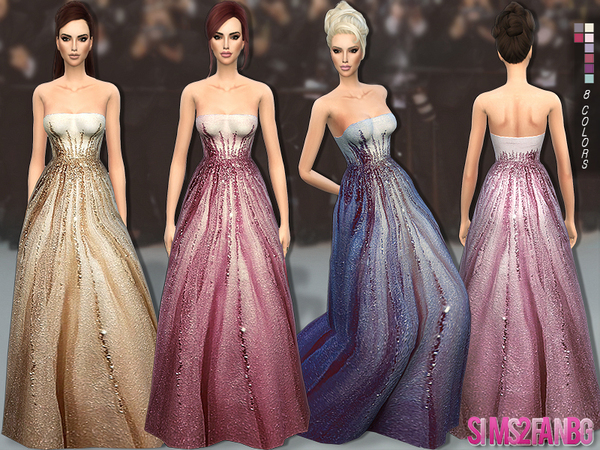 142 - Oscar gown by sims2fanbg
