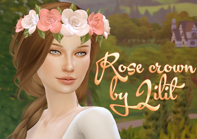 Rose crown by Lilit