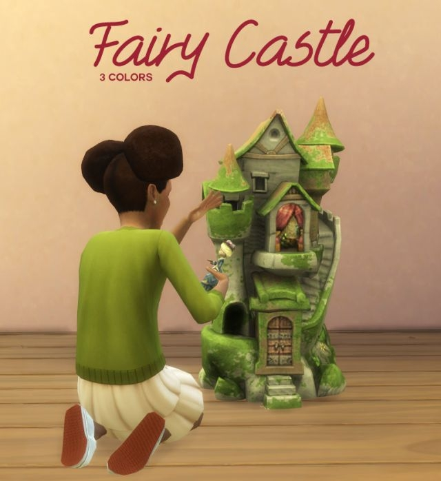 TS3 Fairy Castle Conversion by BoredSimblr