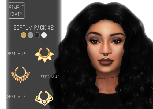 Septum Pack #2 by Simpliciaty