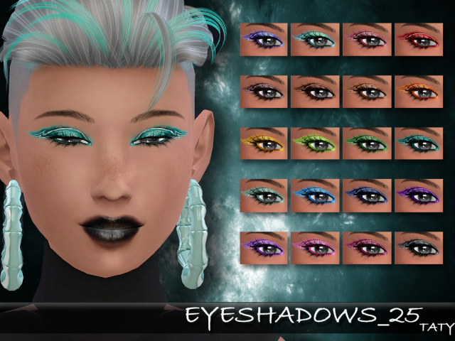 Eyeshadow 25 by tatygagg