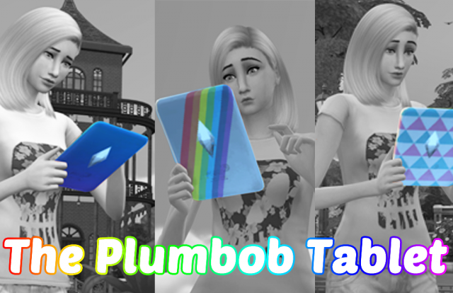 The Plumbob Tablet by xEenhoornx