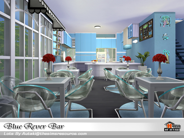 Blue Rever Bar by autaki