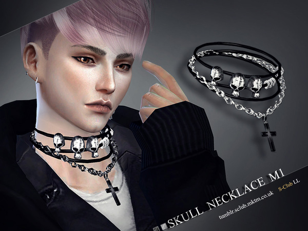S-Club LL ts4 necklace M01