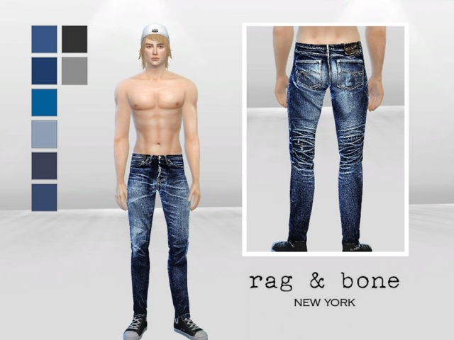 Evans Bleached Skinny Jeans by McLayneSims