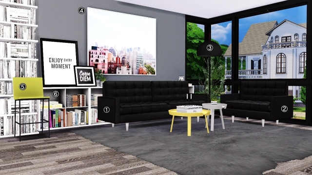 Living Room Conversions Pack by MXIMS