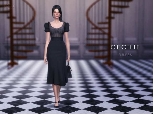 Dress - CECILIE by starlord