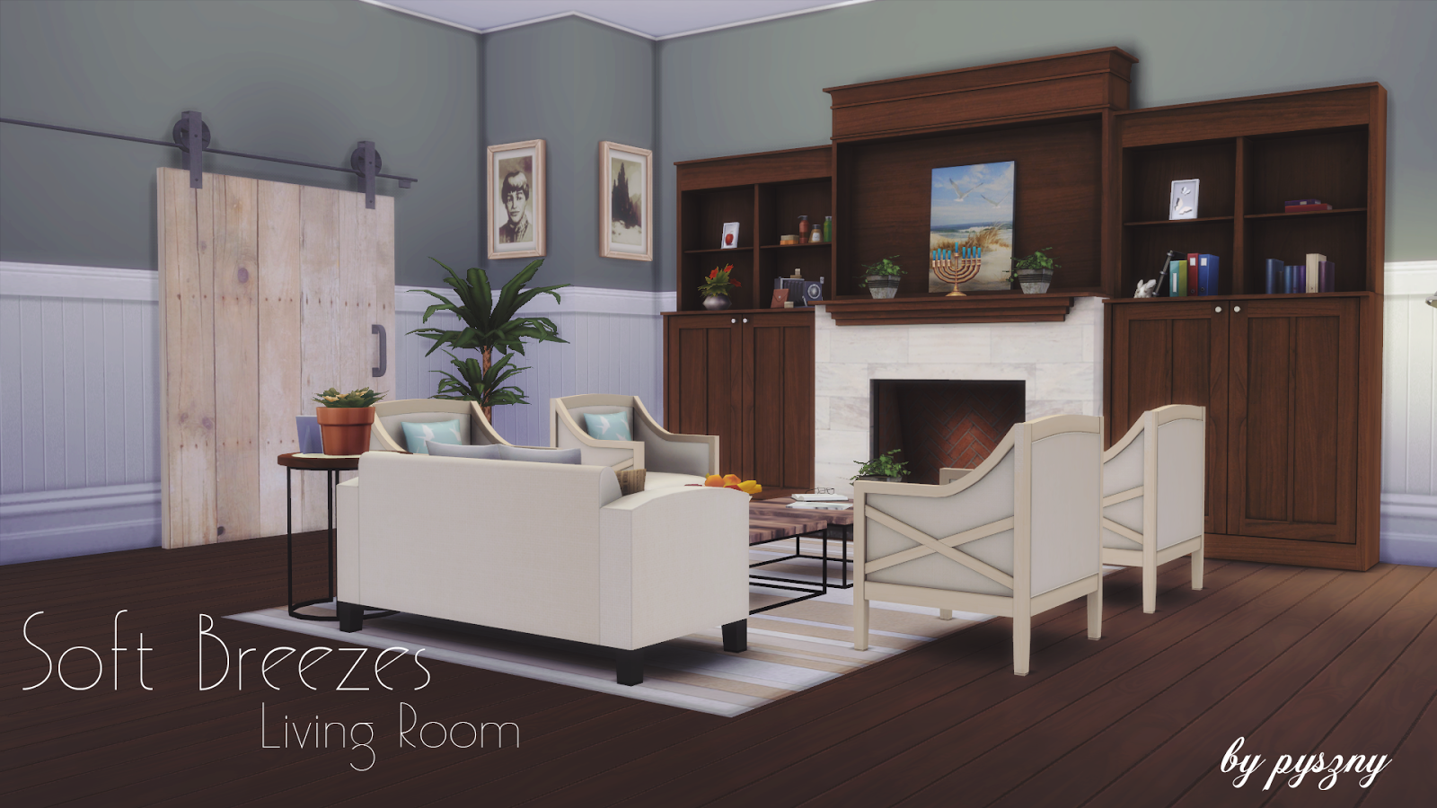 Soft Breezes Living Set by Pyszny