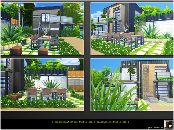 Container Designer Home by Pralinesims