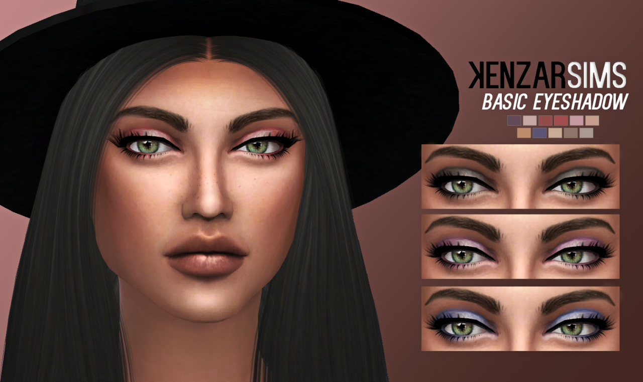 kenzar-basic eyeshadow