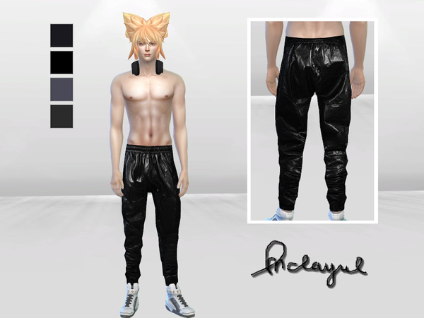 Tenju Leather Pants by McLayneSims