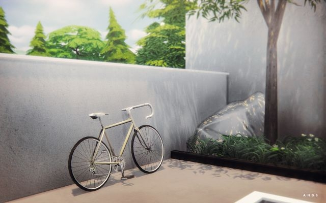 TS3 Bicycle Conversion and Recolor by Alachie & Brick Sims