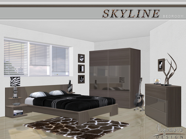 Skyline Bedroom by NynaeveDesign