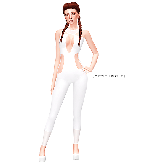 CUTOUT JUMPSUIT by its-leeloo