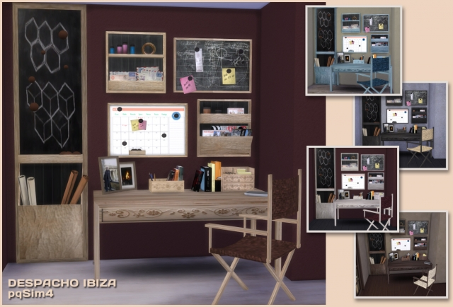 Ibiza Office Set by pqsim4