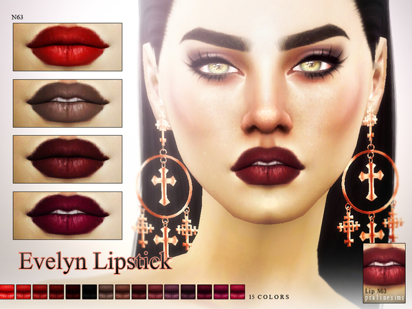 Evelyn Lipstick N63 by Pralinesims