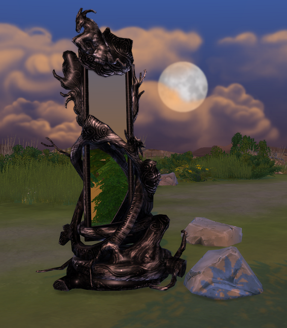 TS2 Yuxi Eluvian Mirror from Dragon Age II Conversion by Biguglyhag