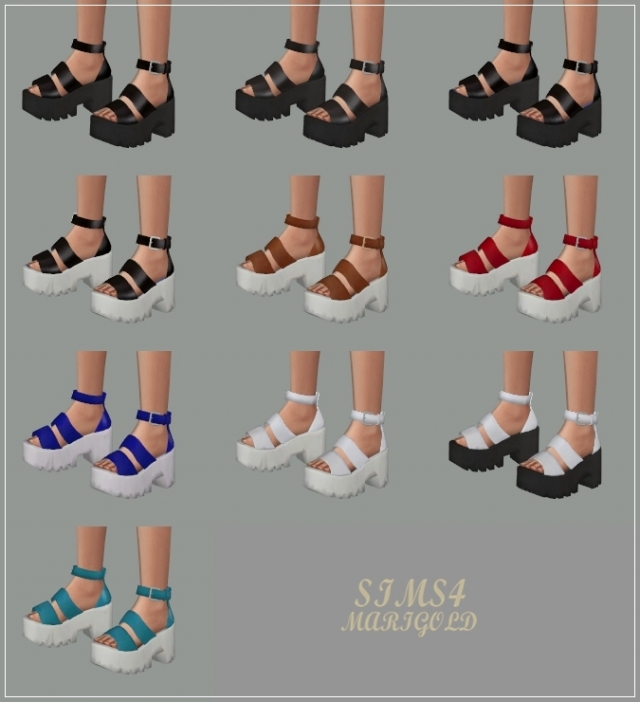 Chunky Sandal by marigold