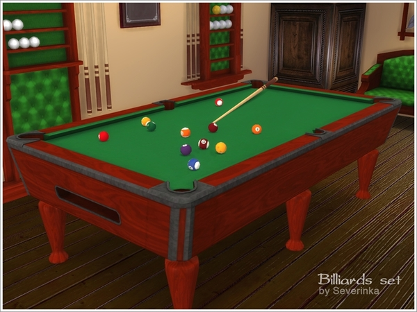 Billiards set by Severinka