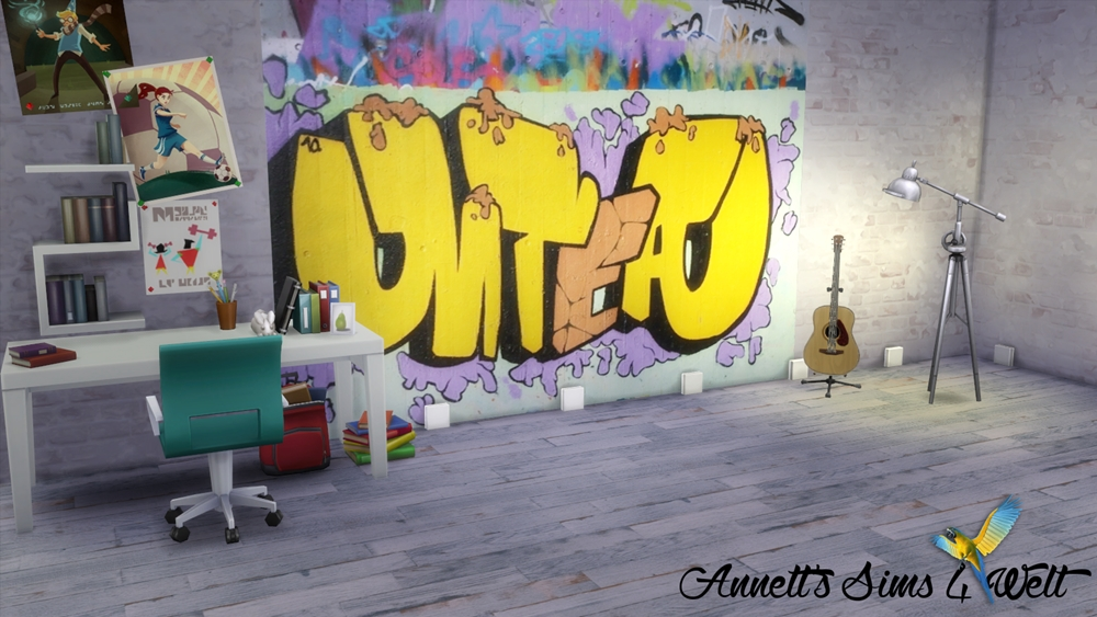 Graffiti Wallpaper by Annett85