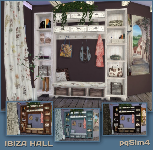 Ibiza Hall Set by pqsim4