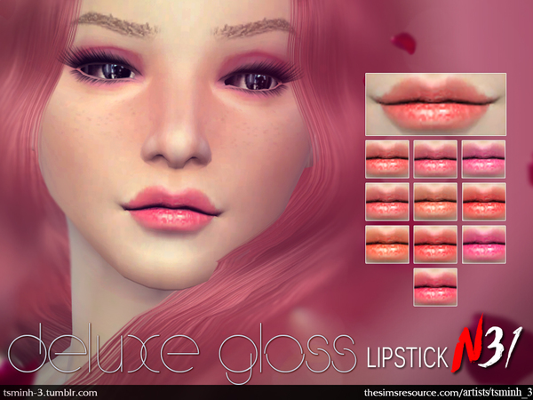 Deluxe Gloss Lipstick by tsminh_3