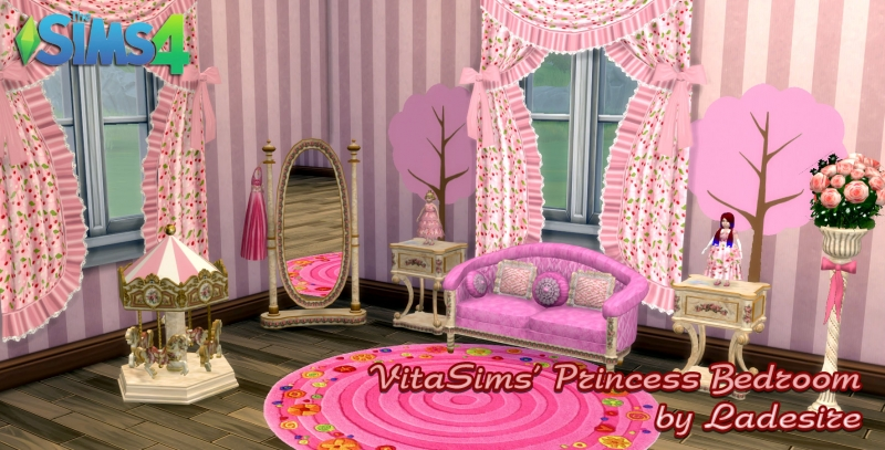 VitaSims' Princess Bedroom by Ladesire