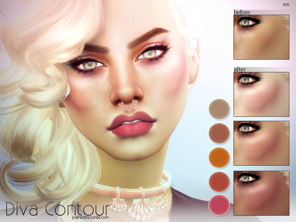 Diva Contour N18 by Pralinesims