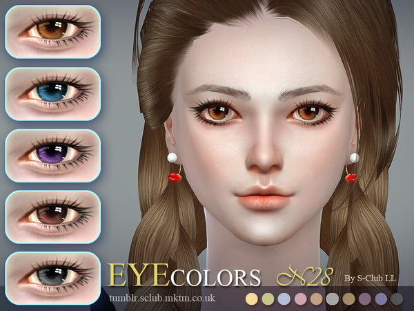 S-Club LL thesims4 Eyecolor 28