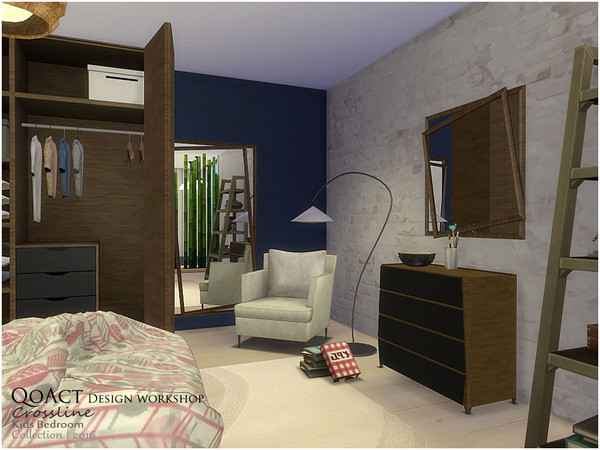 Crossline Kids Bedroom by QoAct