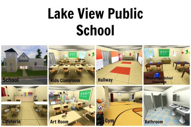 Lake View Public School by PhantasticSimmer