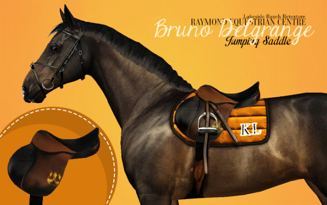 Bruno Delgrange jumping saddle by Raymond Equestrian Centre