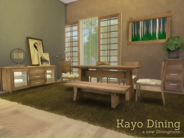 Kayo Dining by Angela